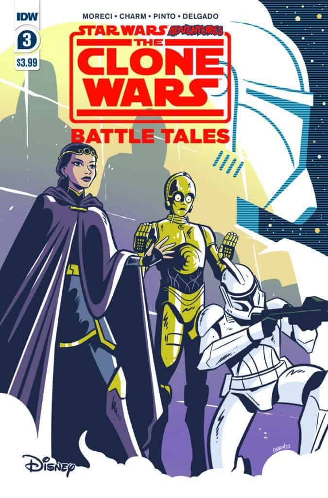 STAR WARS ADVENTURES: CLONE WARS - Battle Tales #3 - Cover A