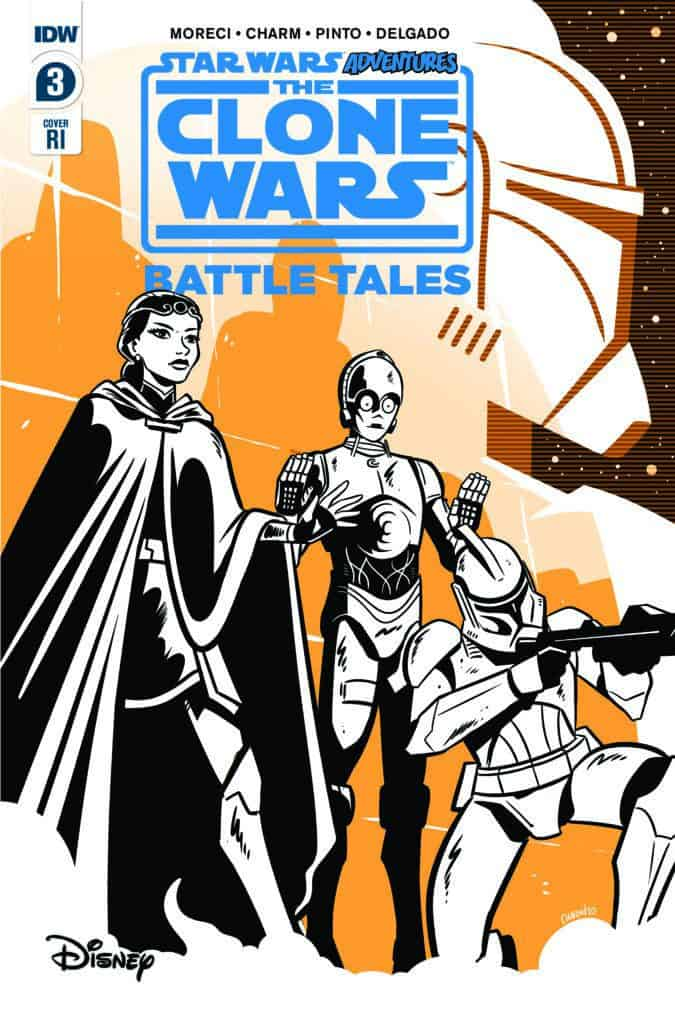 STAR WARS ADVENTURES: CLONE WARS - Battle Tales #3 - Retailer Incentive Cover