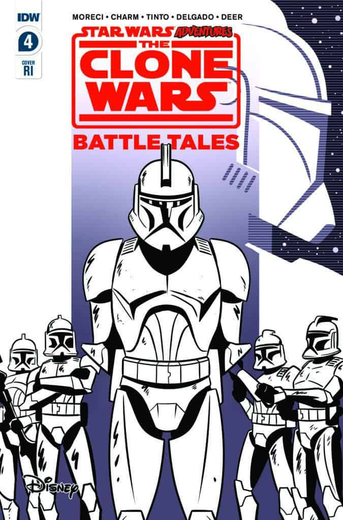 STAR WARS ADVENTURES: CLONE WARS – Battle Tales #4 - Retailer Incentive Cover