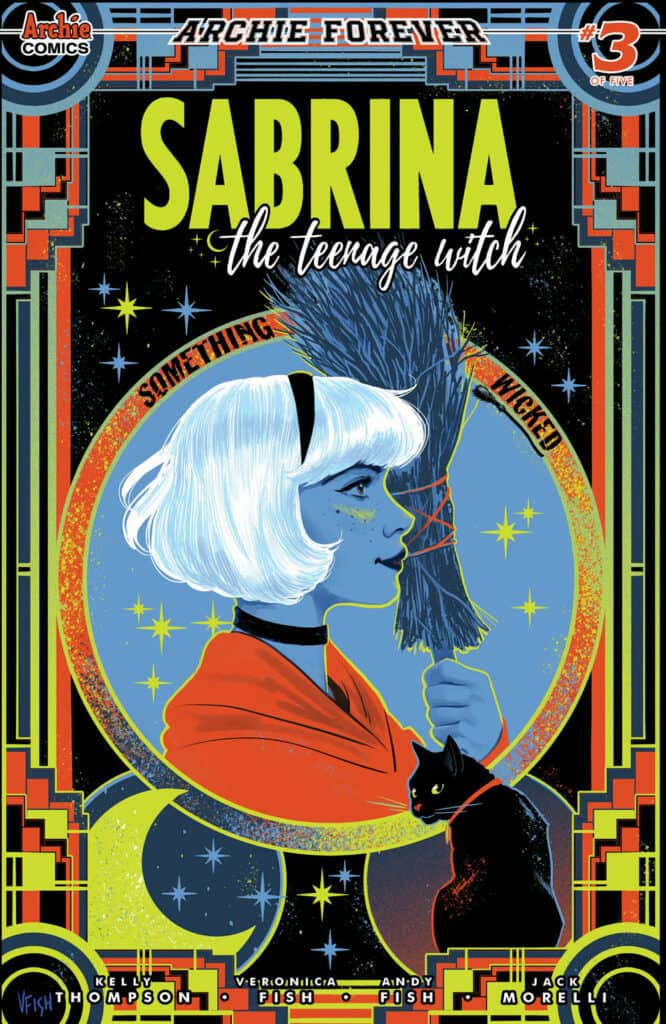 SABRINA: SOMETHING WICKED #3 - Main Cover by Veronica Fish