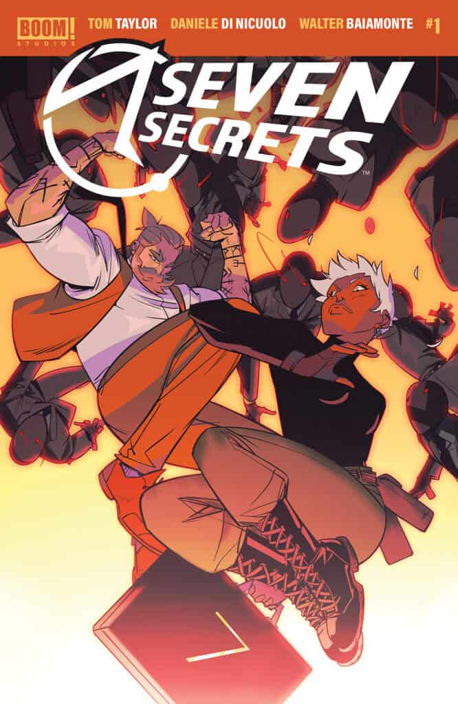 SEVEN SECRETS #1 - Main Cover
