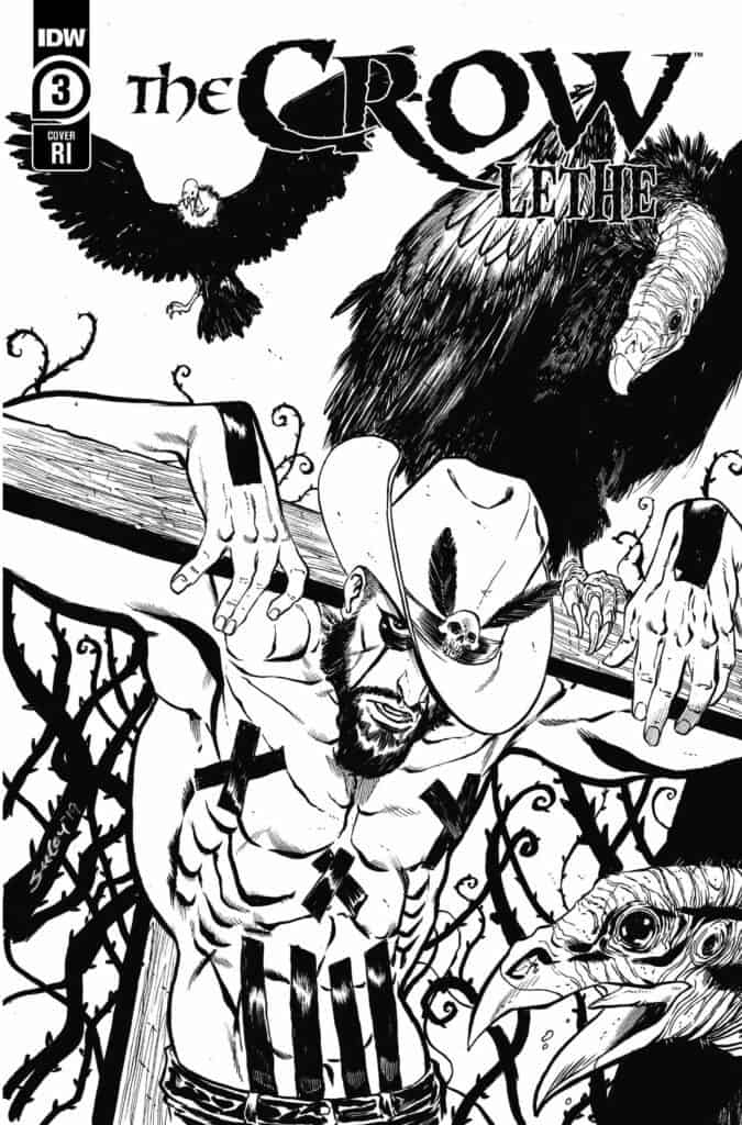 THE CROW: Lethe #3 - Retailer Incentive Cover
