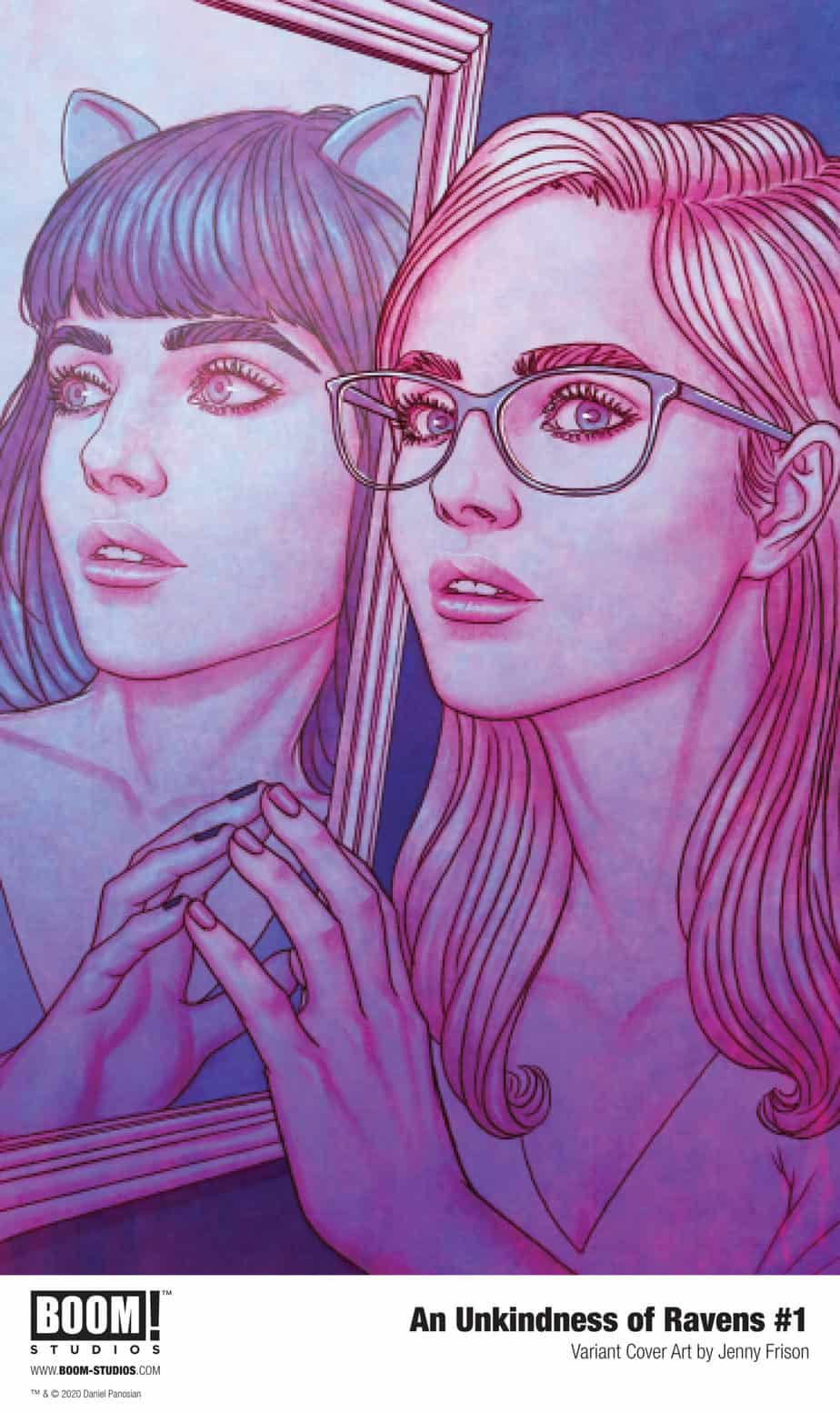AN UNKINDNESS OF RAVENS #1 - Variant Cover by Jenny Frison
