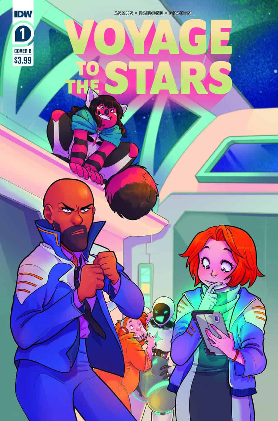 VOYAGE TO THE STARS #1 - Cover B