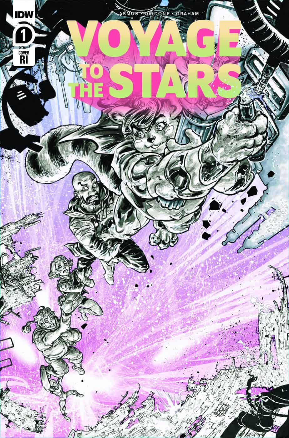 VOYAGE TO THE STARS #1 - Retailer Incentive Cover