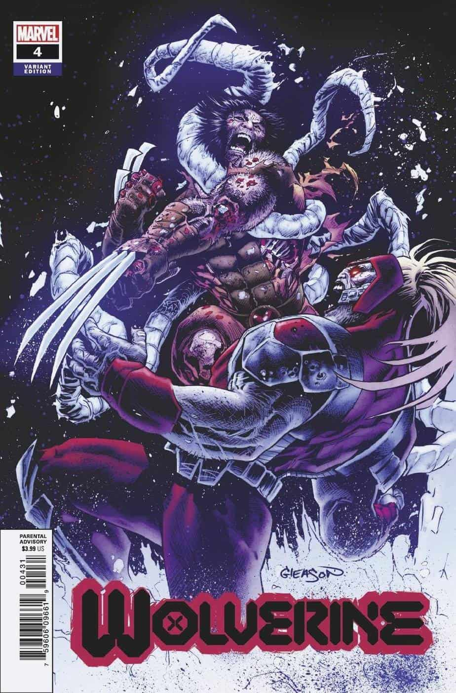WOLVERINE #4 - Cover B
