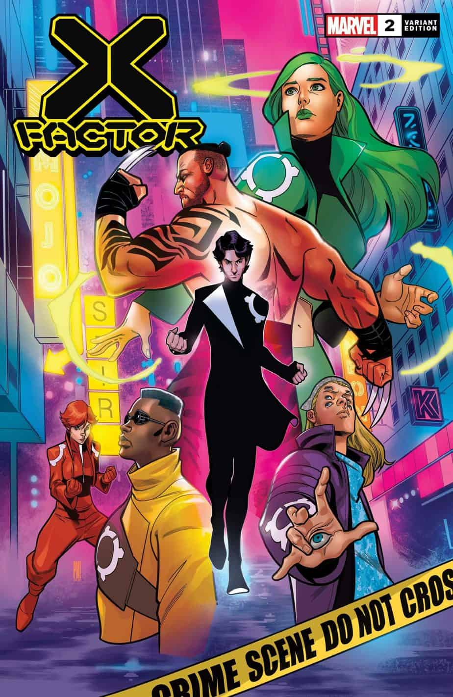 X-FACTOR #2 - Cover B