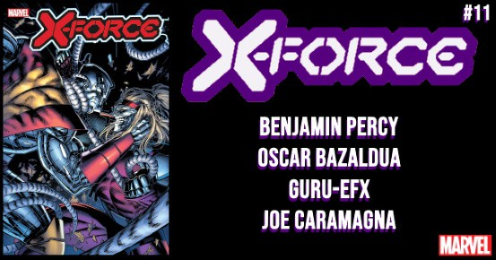 X-FORCE #11 preview feature