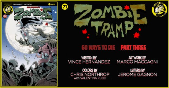 Zombie Tramp #71 preview feature