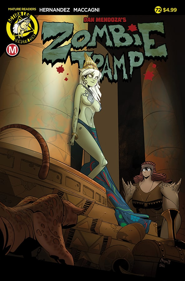 Zombie Tramp #72 Cover A