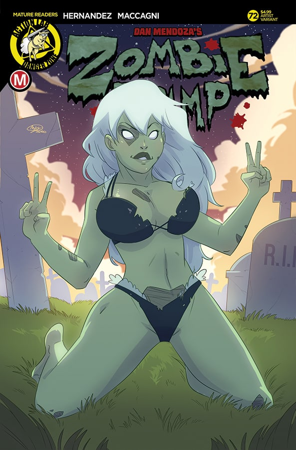 Zombie Tramp #72 Cover E