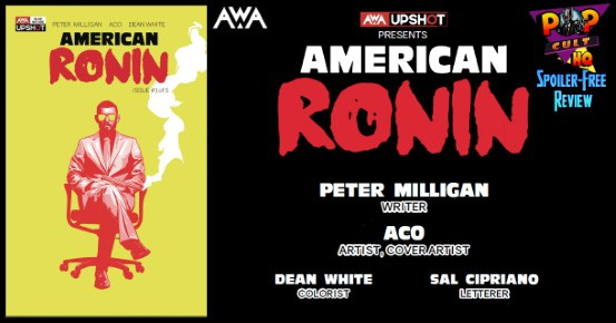 AMERICAN RONIN #1 review feature