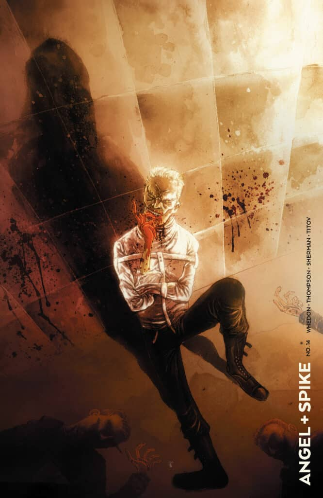 ANGEL & SPIKE #14 - Variant by Ben Templesmith