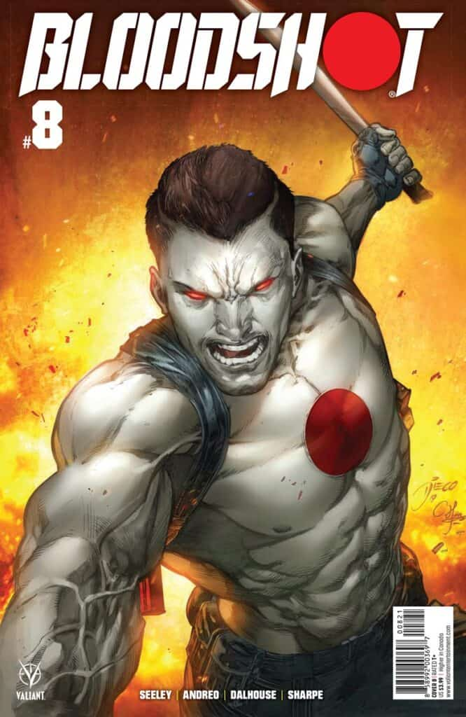 BLOODSHOT (2019) #8 - Cover B