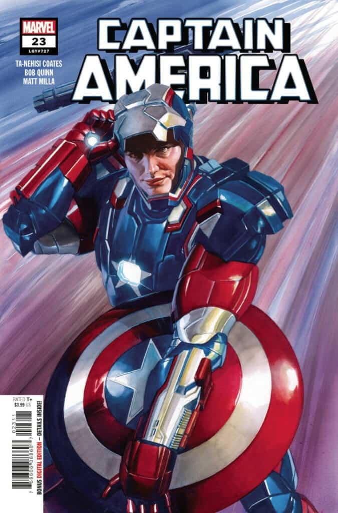 CAPTAIN AMERICA #23 - Cover A