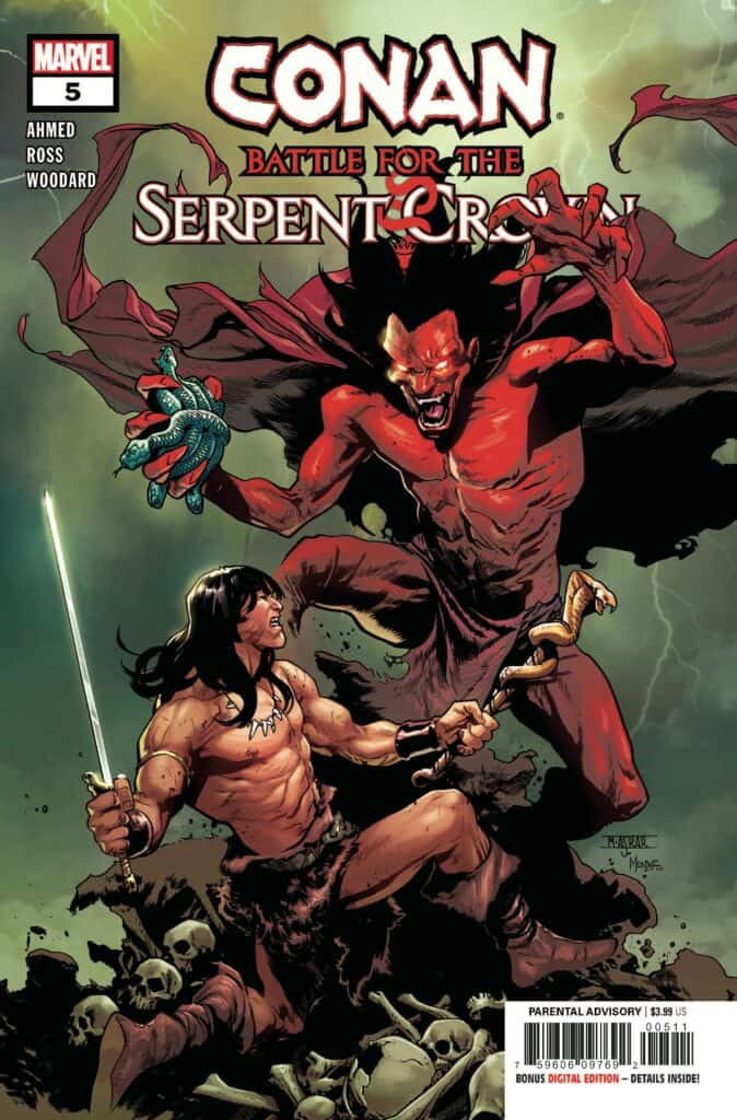 CONAN: Battle for the Serpent Crown #5 - Cover A