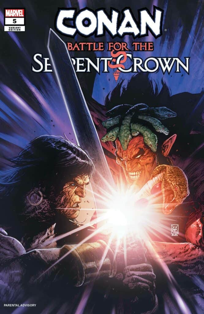 CONAN: Battle for the Serpent Crown #5 - Cover B