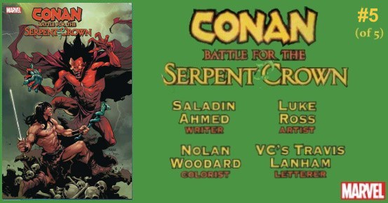 CONAN Battle for the Serpent Crown #5 preview feature