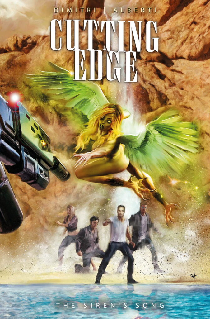 CUTTING EGDE – THE SIREN'S SONG #2 - Cover A
