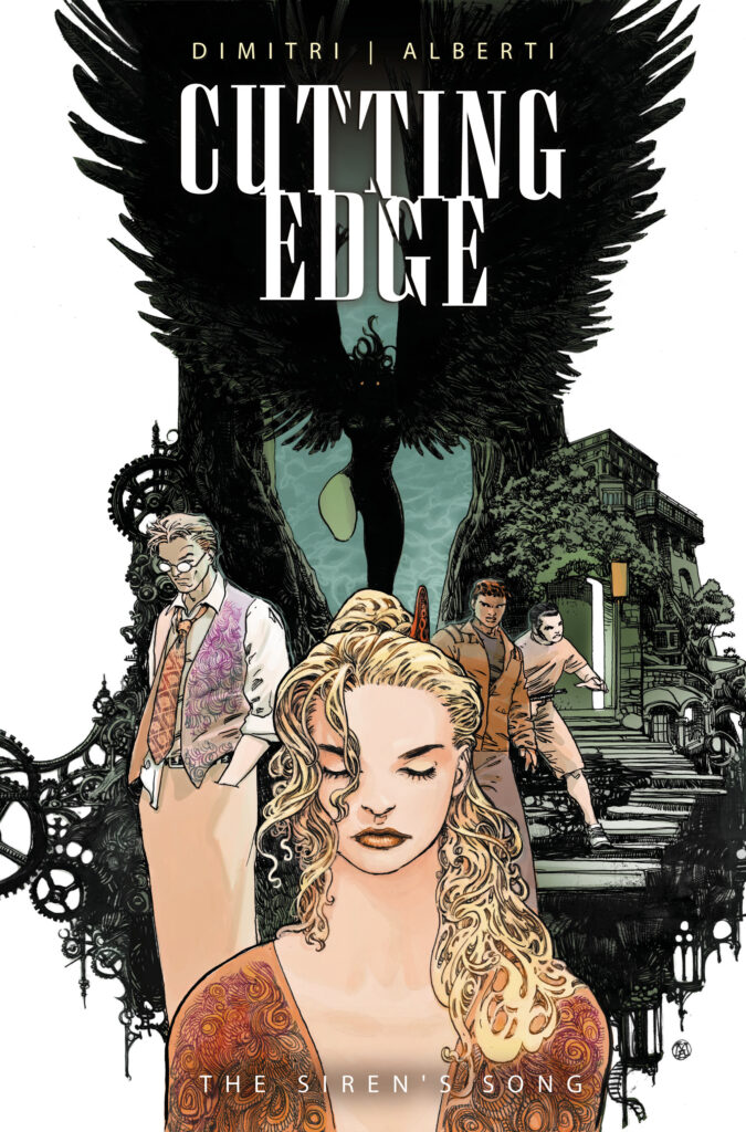 CUTTING EGDE – THE SIREN'S SONG #2 - Cover B