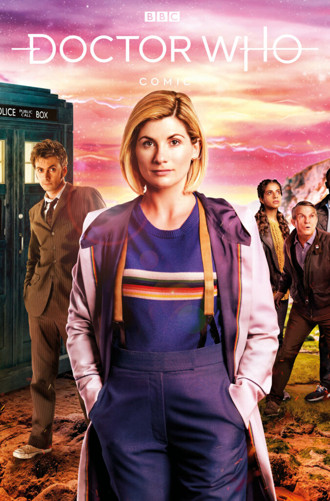 DOCTOR WHO #2 - Cover B