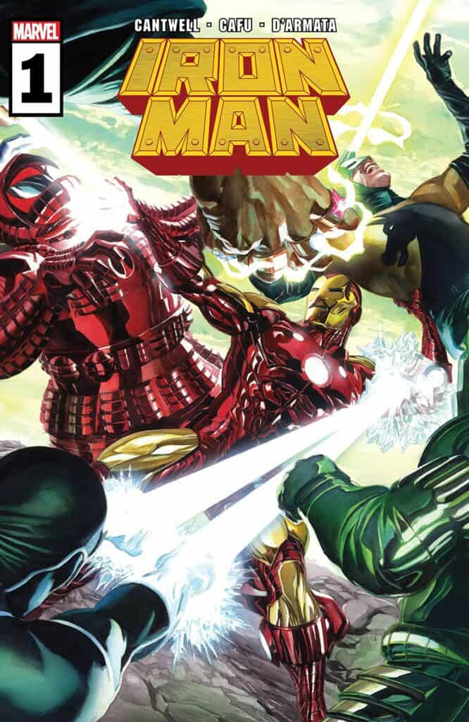 IRON MAN #1 - Cover A