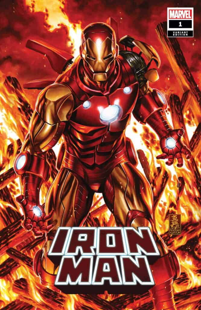IRON MAN #1 - Cover B