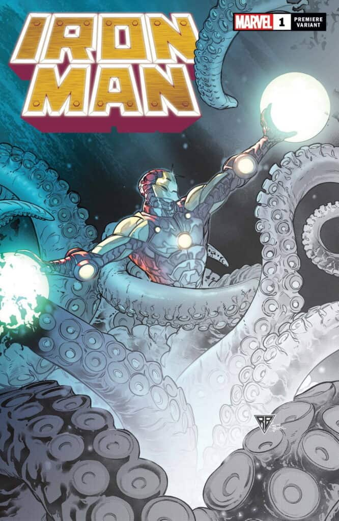 IRON MAN #1 - Cover D