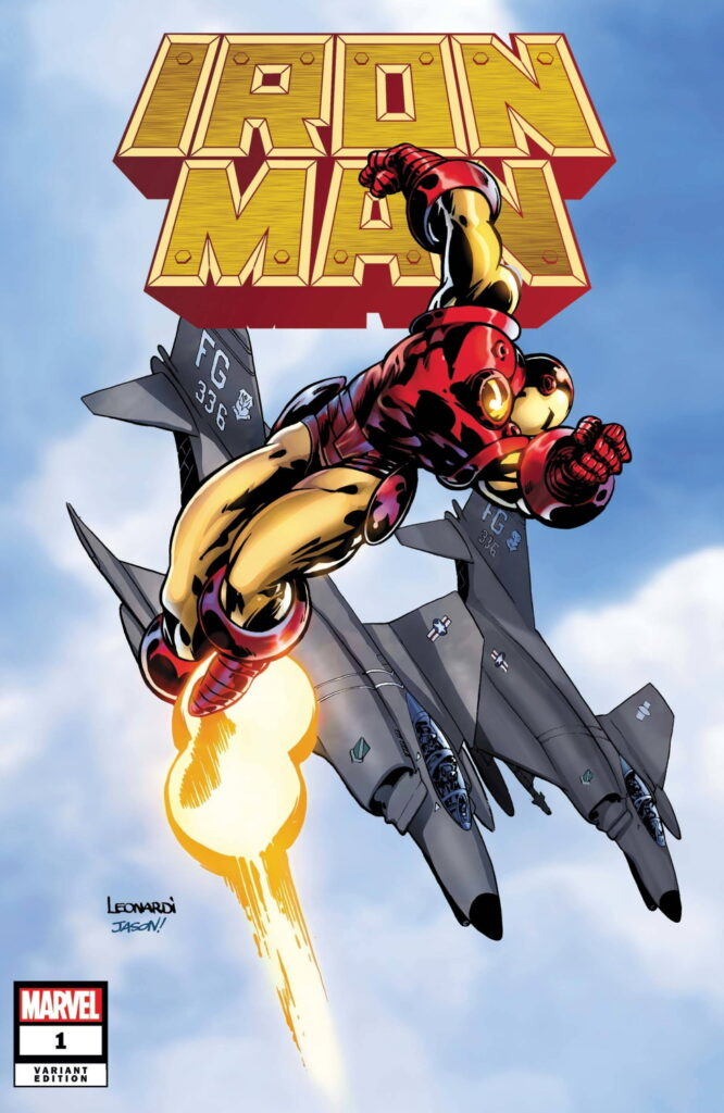 IRON MAN #1 - Cover F