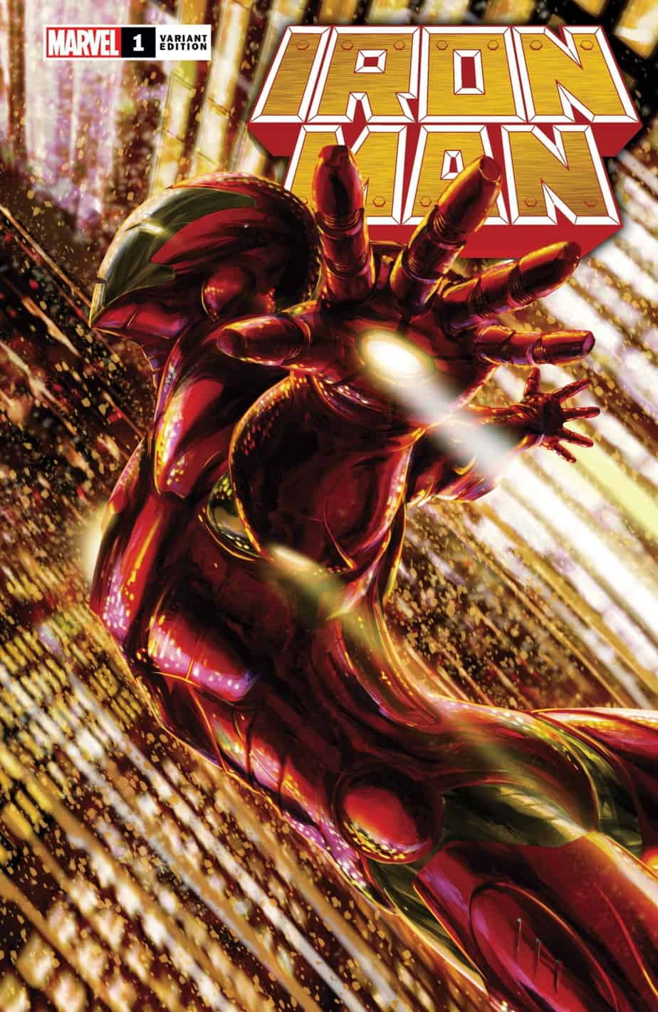 IRON MAN #1 - Cover G