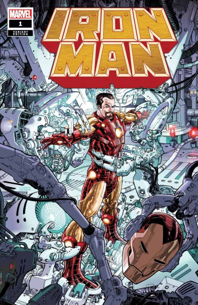 IRON MAN #1 - Cover H