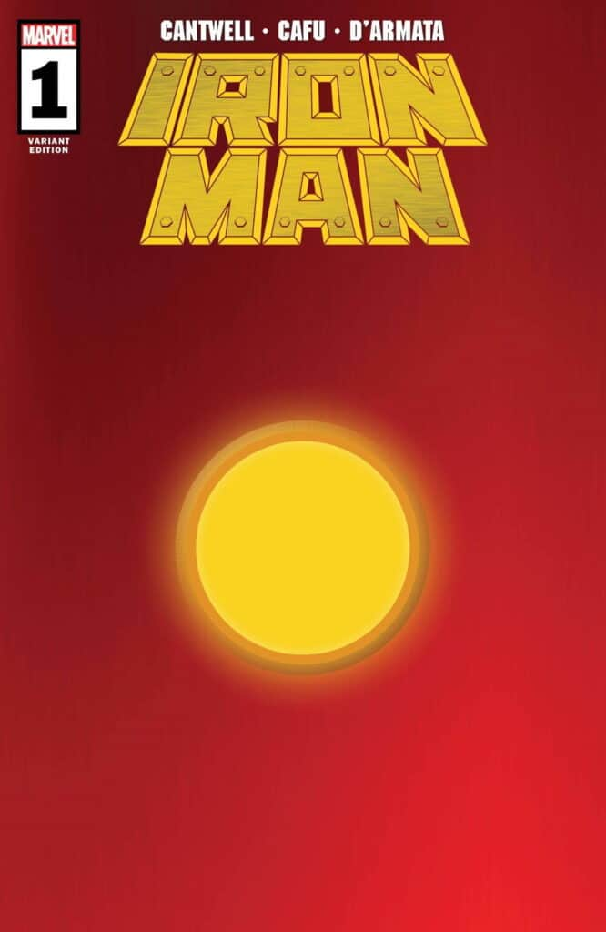 IRON MAN #1 - Cover I