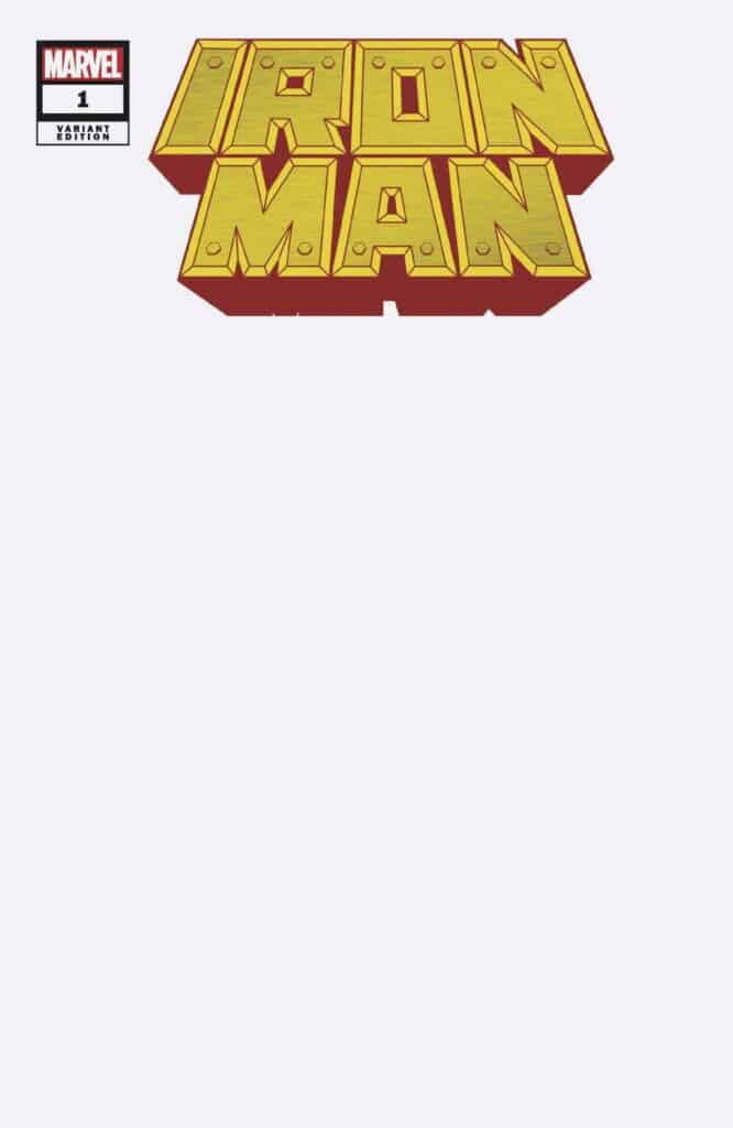 IRON MAN #1 - Cover J