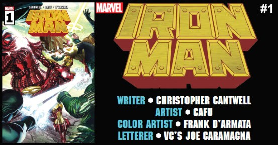 IRON MAN #1 preview feature