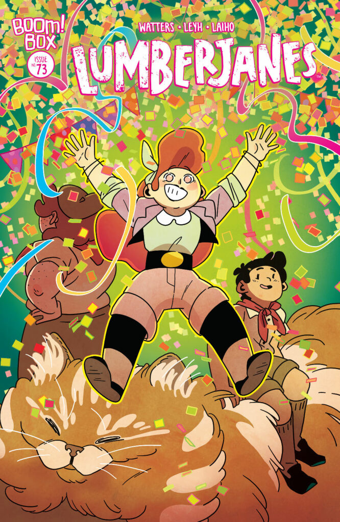 LUMBERJANES #73 - Main Cover