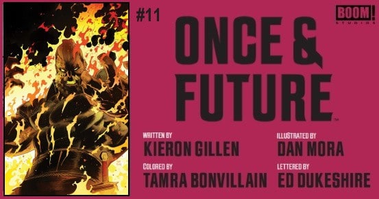 Once & Future #11 preview feature