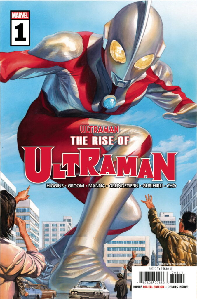 Rise Of Ultraman #1 - Cover A