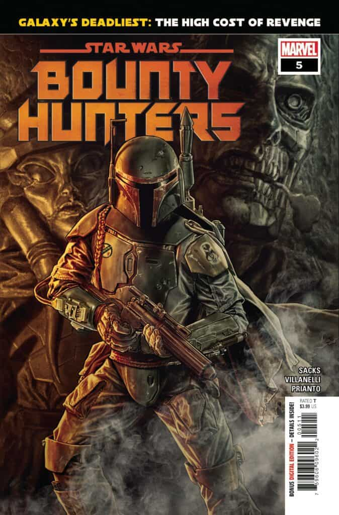 STAR WARS: Bounty Hunters #5 - Cover A
