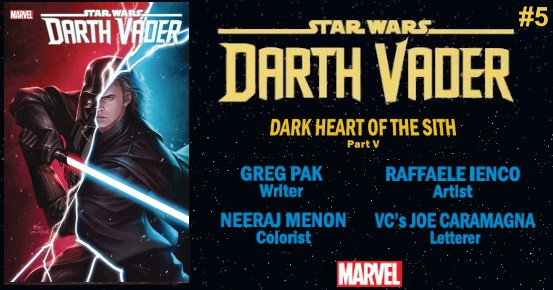 STAR WARS Darth Vader #5 preview feature