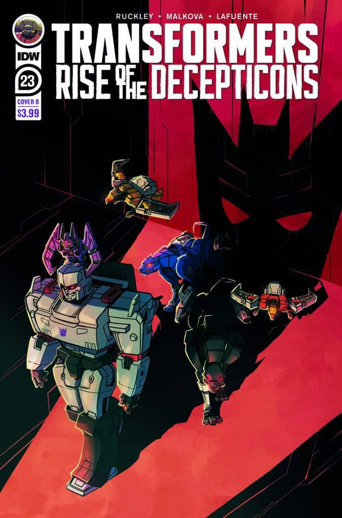 Transformers #23 - Cover B