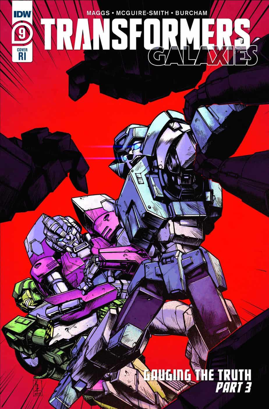 Transformers: Galaxies #9 - Retailer Incentive Cover