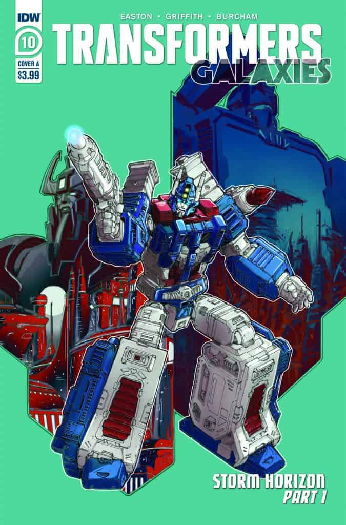 Transformers: Galaxies #10 - Cover A