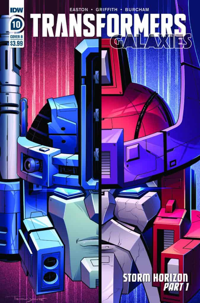 Transformers: Galaxies #10 - Cover B