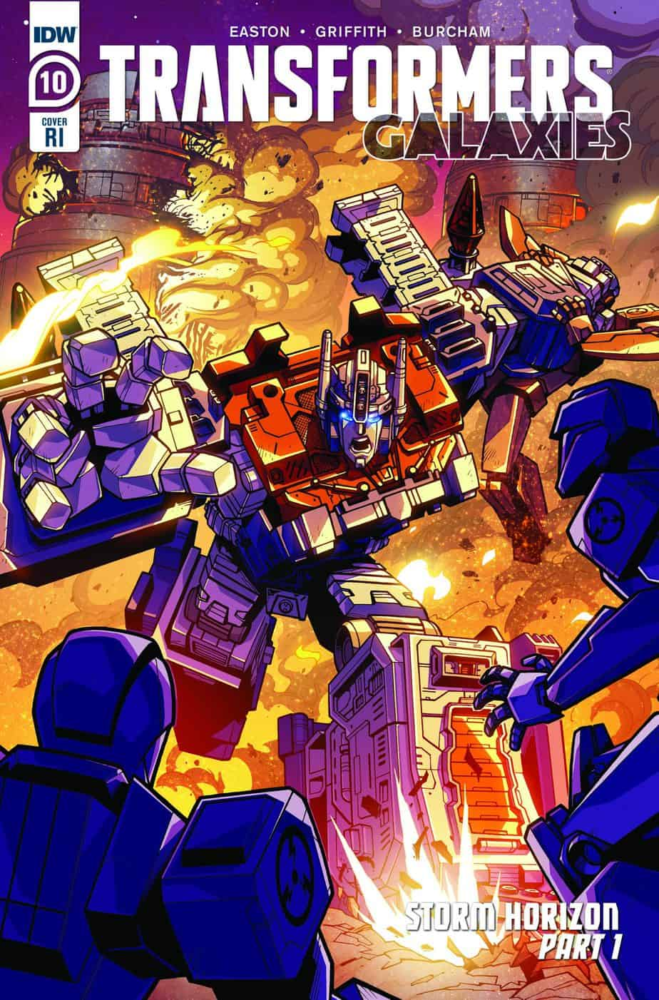 Transformers: Galaxies #10 - Retailer Incentive Cover