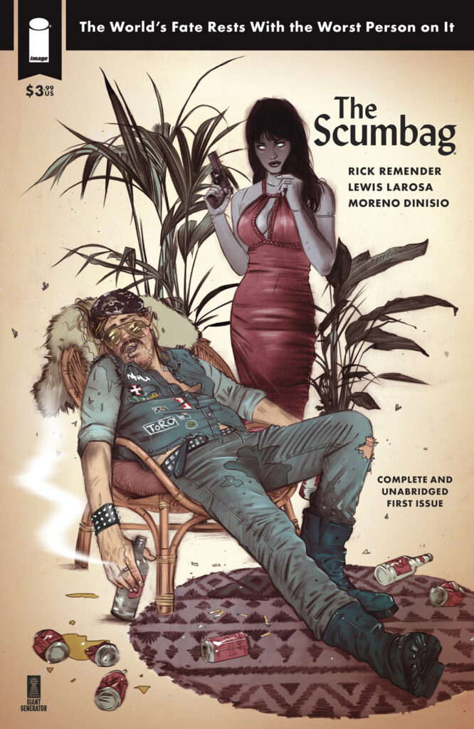THE SCUMBAG #1 - Cover D