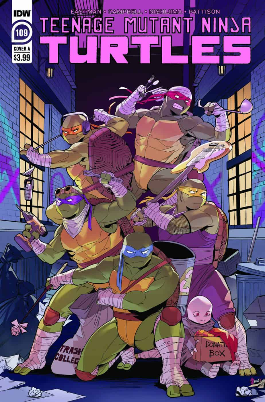 Teenage Mutant Ninja Turtles #109 - Cover A