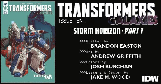 TRANSFORMERS Galaxies #10 preview feature