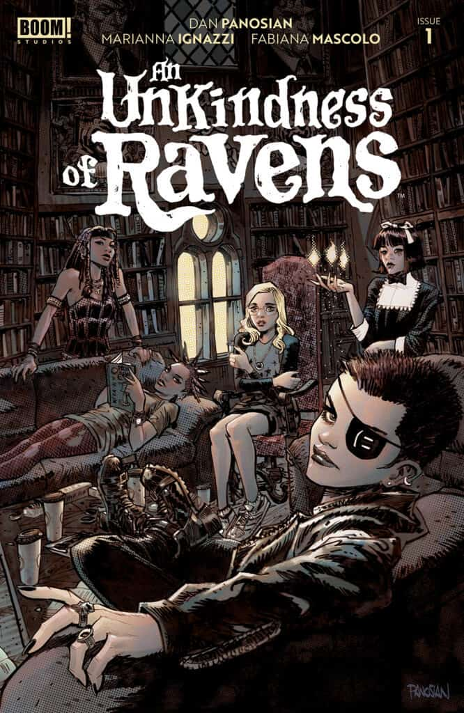 AN UNKINDNESS OF RAVENS #1 - Main Cover