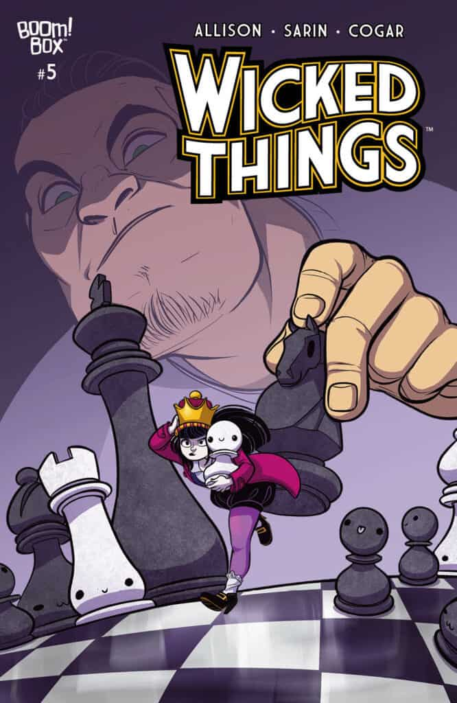 WICKED THINGS #5 - Main Cover