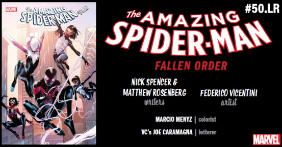AMAZING SPIDER-MAN #50.LR preview feature